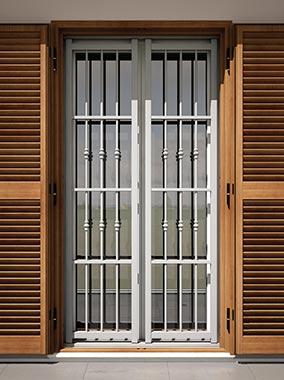 grate di sicurezza per finestre e porte a brescia